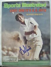 ANDY NORTH signed 1978 US OPEN Sports Illustrated golf magazine Autographed AUTO