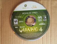 Replacement Bonus Disc For Quake 4 For Xbox 360 Very Good 8466