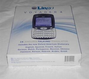 LINGO VOYAGER 4 LANGUAGE TALKING TRANSLATOR TTV - 4+