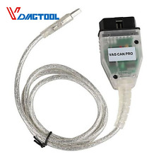 VAG CAN PRO CAN BUS UDS K-line Protocol S.W Version 5.5.1 VCP Code Reader Cable