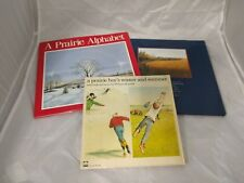 3 Picture Books - If You're Not From The Prairie - Prairie Boy Winter - Alphabet