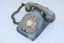 Old Telephone ANTIQUE PHONE Parts Props Black Vintage Cosplay