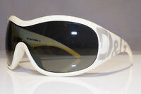 DOLCE & GABBANA Womens Vintage Sunglasses White Shield STUDDED D&G 8008 26164