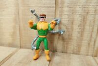 1995 Marvel Action Figure Doctor Octopus Doc Ock Spider Man 3.75 Inch Figure