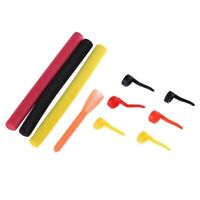 10pcs Carp Fishing Lures DIY Materials Sleeve+Foam Pop Up Baits for Zig Align ZC