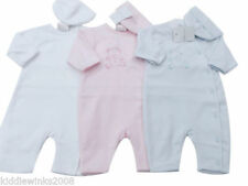 Pyjamas blancs pour fille de 0 à 24 mois