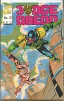 Judge Dredd 1986 series # 15 very fine comic book