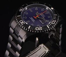 Invicta 23008 Pro Diver Black Gunmetal Blue Dial Stainless Steel Bracelet Watch