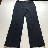 Talbots Heritage Fit Dark Blue Dress Pants Size 10 A1667