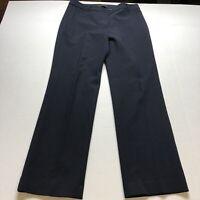 Talbots Heritage Fit Dark Blue Dress Pants Size 10 A1667