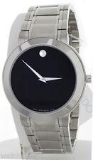 Movado Men's Stiri Stainless-Steel Black Dial Swiss Quartz Watch 0606191