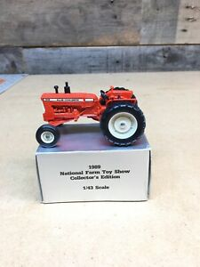 1/43 SCALE ALLIS-CHALMERS D-19 TRACTOR 1989 NATIONAL FARM TOY SHOW COLLECTOR EDI