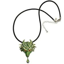 Kirks Folly Thor Dragon Pin Pendant Cord Necklace ST  ~~2017 New Release~~