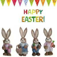 Easter Cute Bunny Rabbit Decoration New Natural Sisal Sale Fiber Hot Straw O6F9