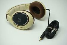 Sennheiser HD 598 Headphones Over Ear Brown Very Good Used Y008