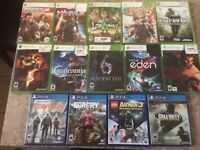 Xbox 360/ PS4 *GAME LOT*