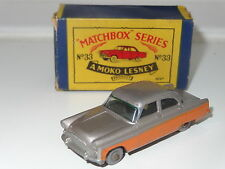 matchbox lesney FORD ZODIAC - 33