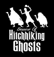 Disney Haunted Mansion Beware of Hitchhiking Ghost t-shirt Men's Boy's t-shirt