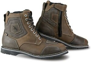Falco Ranger Waterproof Motorcycle Boots from Oiled Leather Non-Slip