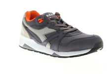 Diadora N9000 III 171853-C7738 Mens Gray Suede Lifestyle Sneakers Shoes 7.5