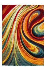 GRAPHIQUE TAPIS DESIGN Tapis moderne SHAGGY tapis SOLDES RAINBOW 200x290cm
