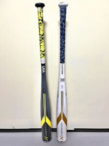 Easton Ghost X 31/28 and Ghost X Hyperlite 31/20 BBCOR Baseball Bats