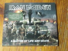 9µ?  CD + DVD bonus Iron Maiden A matter of life and death