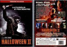 Halloween II 2 DVD HORROR FUORI CATALOGO remake ED.NOLEGGIO