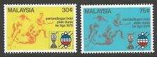 MALAYSIA SG128/9 1975 THIRD WORLD CUP HOCKEY CHAMPIONSHIP MNH