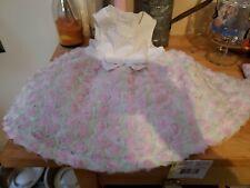 Little Me Signature Garden Party Pink Floral Size 2 Month Dress