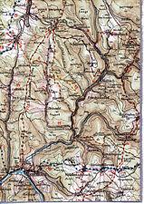 Eberbach Beerfelden Waldbrunn 1920 orig Teil-Karte/Ln Reisenbach Krähberg Mülben