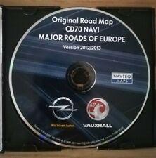 OPEL CD 70 Navi / HAUPTSTRASSEN EUROPAS 2013 / Astra Corsa Zafira Vectra Signum