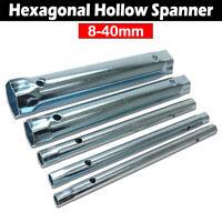 Metric Tubular Box Spanner Wrench Monobloc Back Nut 8 - 40mm EXTRA LONG Fitting