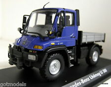 Schuco 1/43 Scale 04644 Mercedes Benz Unimog U 300 Blue diecast model truck
