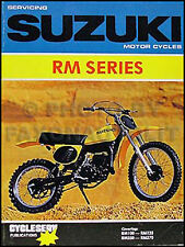 1975-1980 Suzuki RM100 and RM125 Shop Manual RM 100 125 Motorcycle Repair 1976