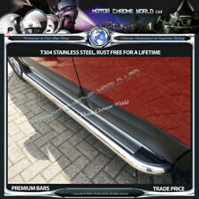 FITS TO VOLVO XC-90 SIDE BARS STEPS RUNNING BOARDS CHROME 2002-2007 SS OFFER NEW