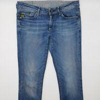 G-Star Midge Skinny WMN 60079 W30 L30 blau Damen Jeans Designer Denim Hose Chic