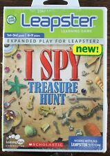 LeapFrog Leapster 2 Learning Game Scholastic I SPY Treasure Hunt NEW