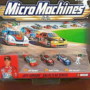 Vintage Micro Machine NASCAR Jeff Gordon Winners Circle Green Flag Series