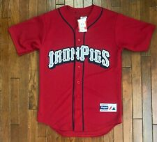 NEW Lehigh Valley IronPigs Majestic Jersey Philadelphia Phillies Men's Small