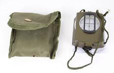 GWHOLE Kompass Multifunktional tragbar Metall für Wandern Camping Armee-Grün