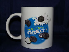 Oreo Cookie Dunking Coffee Mug How Do You Eat an Oreo? Houston Harvest & Nabisco