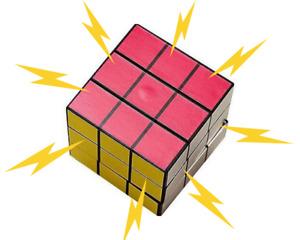 Electric Shock Prank Rubiks Cube – Funny Rubix Novelty Joke Toy Rubic Puzzle Kid