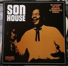 Blues SON HOUSE Legendary 1941-1942 1st Press 1969 LP FOLKLYRIC 9002 Top Copy!