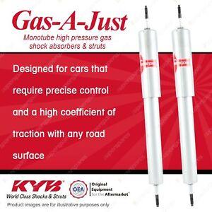 2 x Rear KYB Gas-A-Just Shock Absorbers for Jaguar MK II I6 RWD Sedan
