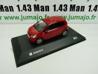SEA25B : SEAT dealer models Fischer : Mii rouge