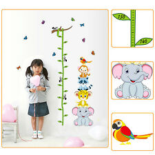 Height Measure Wall Sticker Decal Kids Adhesive Vinyl Baby Girl Boy Room Decor