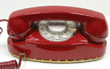 Red Western Electric Rotary Princess Telephone - Full Restoration