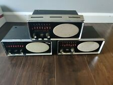 Lot of 3 Electra Bearcat 3 Model #Bc Iii 8 Channel Radio Receiver Free Shipping