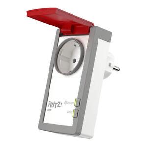 AVM FRITZ!DECT 210 Intelligente Steckdose für Smart Home mit Spritzwasserschutz